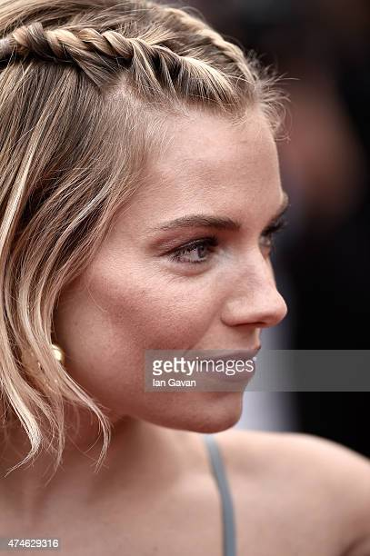 Jury member Sienna Miller attends the closing ceremony and Premiere of 'La Glace Et Le Ciel' during the 68th annual Cannes Film Festival on May 24...