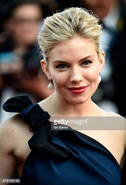 Jury member Sienna Miller attends the opening ceremony and premiere of 'La Tete Haute' during the 68th annual Cannes Film Festival on May 13 2015 in...