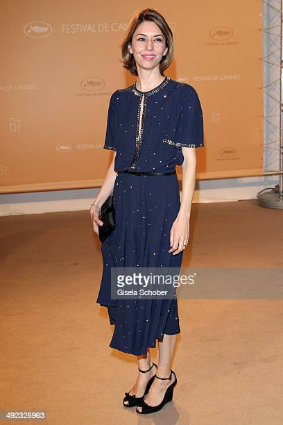 Jury member Sofia Coppola attends the Agora dinner at the 67th Annual Cannes Film Festival on May 19 2014 in Cannes France