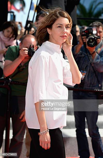 Jury member Sofia Coppola attends the 'Futatsume No Mado' premiere during the 67th Annual Cannes Film Festival on May 20 2014 in Cannes France