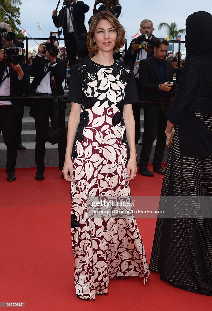 Jury Member Sofia Coppola attends the red carpet for the Palme D'Or winners at the 67th Annual Cannes Film Festival on May 25, 2014 in Cannes, France.