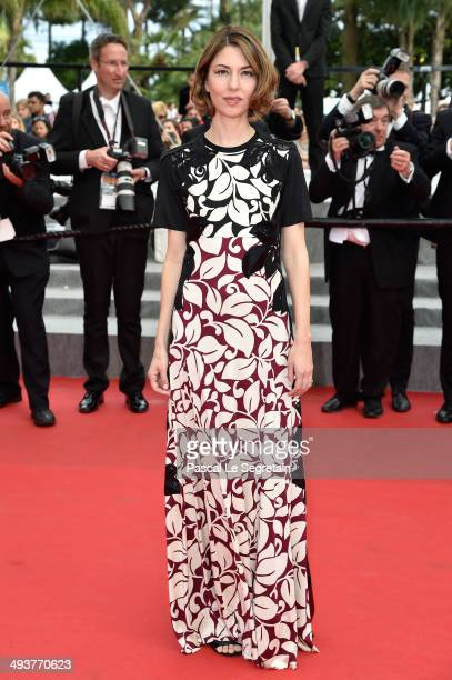 Jury Member Sofia Coppola attends the red carpet for the Palme D'Or winners at the 67th Annual Cannes Film Festival on May 25 2014 in Cannes France