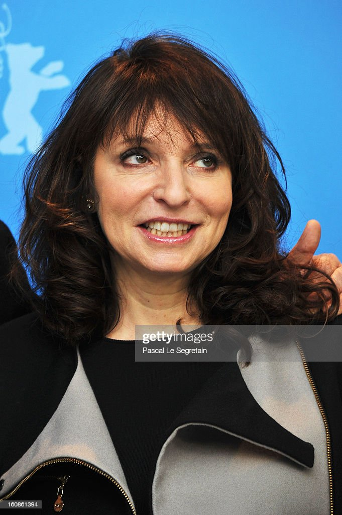 Jury member <a gi-track='captionPersonalityLinkClicked' href=/galleries/search?phrase=Susanne+Bier&family=editorial&specificpeople=240199 ng-click='$event.stopPropagation()'>Susanne Bier</a> attend the International Jury Photocall during the 63rd Berlinale International Film Festival at the Grand Hyatt on February 7, 2013 in Berlin, Germany.