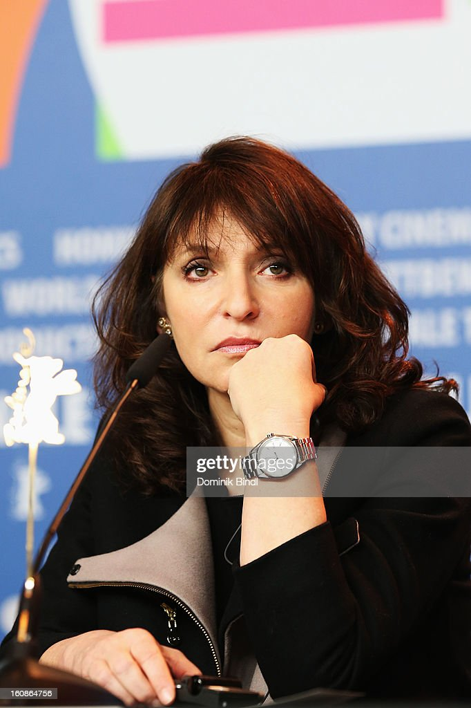 Jury member <a gi-track='captionPersonalityLinkClicked' href=/galleries/search?phrase=Susanne+Bier&family=editorial&specificpeople=240199 ng-click='$event.stopPropagation()'>Susanne Bier</a> attend the International JuryPress Conference during the 63rd Berlinale International Film Festival at the Grand Hyatt on February 7, 2013 in Berlin, Germany.