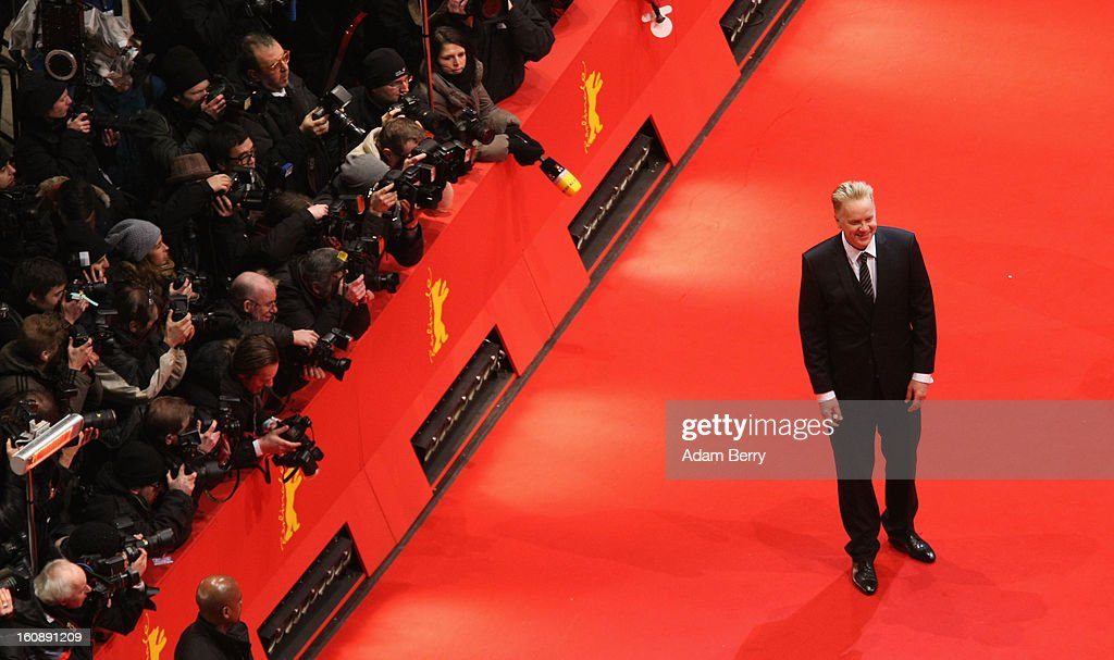 Jury Member <a gi-track='captionPersonalityLinkClicked' href=/galleries/search?phrase=Tim+Robbins&family=editorial&specificpeople=182439 ng-click='$event.stopPropagation()'>Tim Robbins</a> attends 'The Grandmaster' Premiere during the 63rd Berlinale International Film Festival at Berlinale Palast on February 7, 2013 in Berlin, Germany.