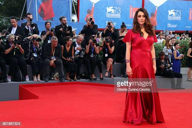 Jury member Valentina Lodovini attends the closing ceremony of the 73rd Venice Film Festival at Sala Grande on September 10 2016 in Venice Italy