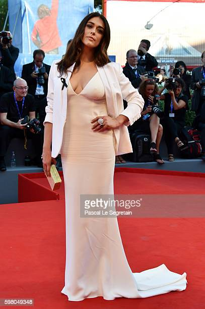 Jury member Valentina Lodovini attends the opening ceremony and premiere of 'La La Land' during the 73rd Venice Film Festival at Sala Grande on...