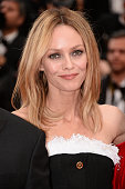 Jury member Vanessa Paradis attends the closing ceremony of the 69th annual Cannes Film Festival at the Palais des Festivals on May 22 2016 in Cannes...