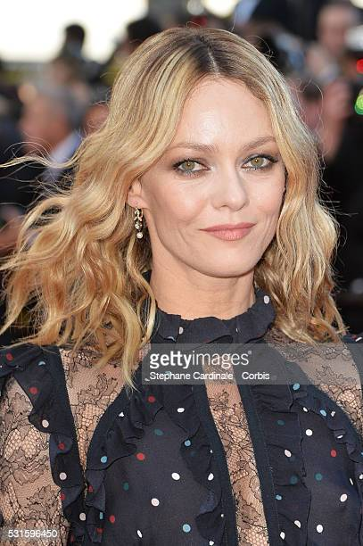 Jury member Vanessa Paradis attends the 'From The Land Of The Moon ' premiere during the 69th annual Cannes Film Festival at the Palais des Festivals...