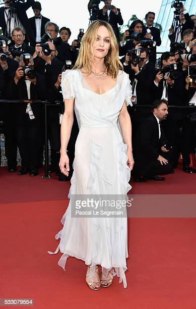 Jury member Vanessa Paradis attends 'The Last Face' Premiere during the 69th annual Cannes Film Festival at the Palais des Festivals on May 20 2016...