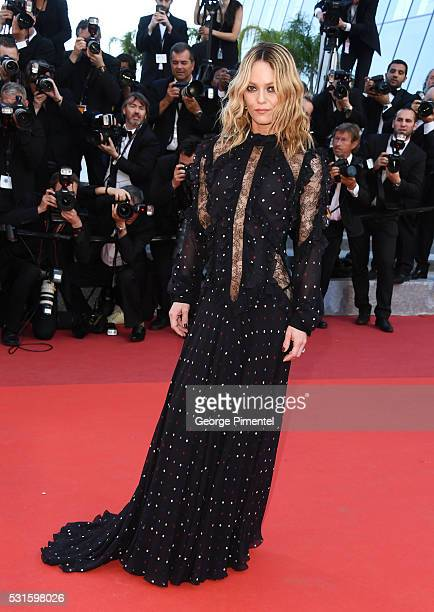 Jury member Vanessa Paradis attends the screening of 'From The Land Of The Moon ' at the annual 69th Cannes Film Festival at Palais des Festivals on...