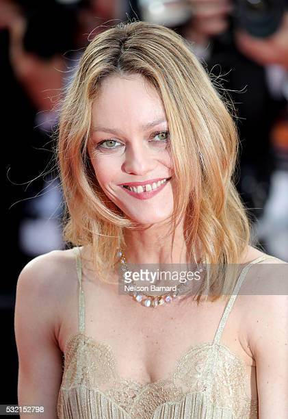 Jury member Vanessa Paradis attends 'The Unknown Girl ' Premiere duirng the annual 69th Cannes Film Festival at Palais des Festivals on May 18 2016...