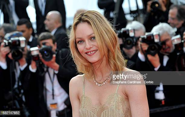 Jury member Vanessa Paradis attends 'The Unknown Girl ' Premiere during the 69th annual Cannes Film Festival at the Palais des Festivals on May 18...