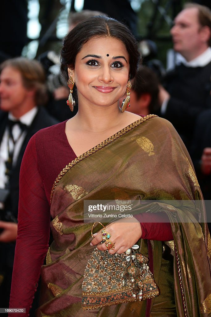 Jury member <a gi-track='captionPersonalityLinkClicked' href=/galleries/search?phrase=Vidya+Balan&family=editorial&specificpeople=563348 ng-click='$event.stopPropagation()'>Vidya Balan</a> attends the 'Bombay Talkies' Premiere at Palais des Festivals during The 66th Annual Cannes Film Festival on May 19, 2013 in Cannes, France.
