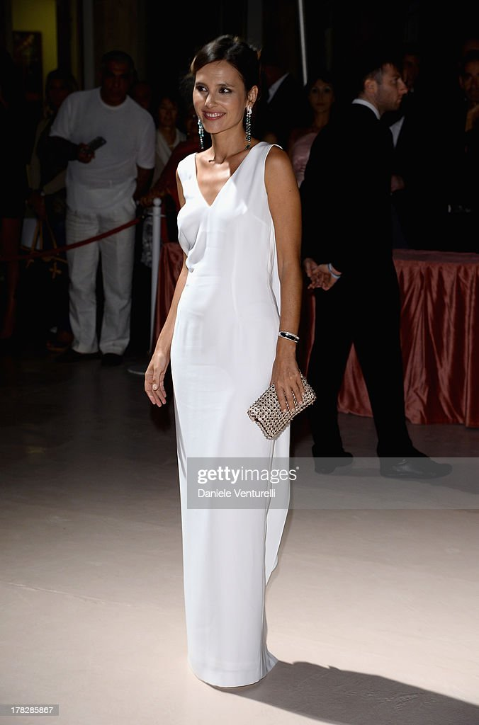 Jury member Virginie Ledoyen attends the Opening Ceremony during The 70th Venice International Film Festival on August 28, 2013 in Venice, Italy.