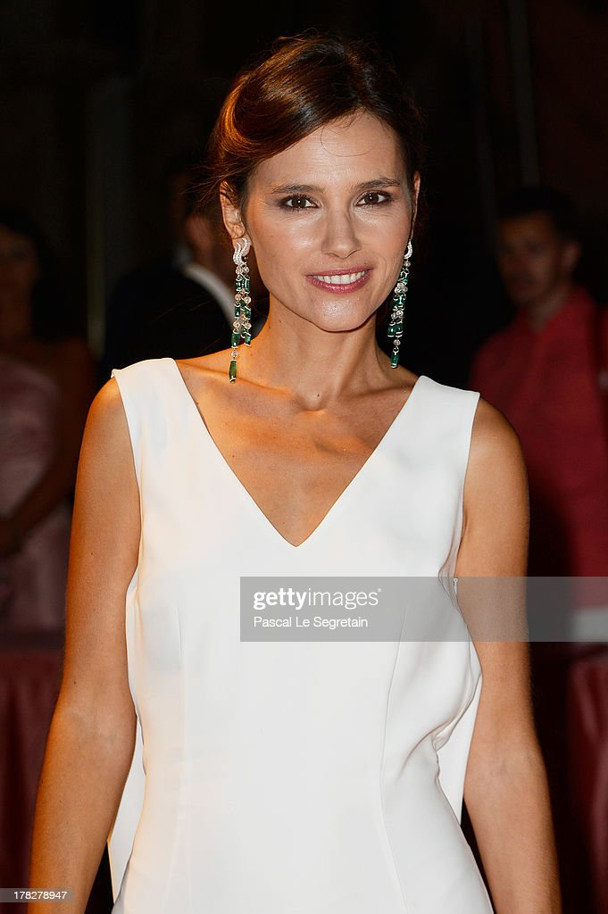 Jury member Virginie Ledoyen attends the Opening Dinner Arrivals during the 70th Venice International Film Festival at the Hotel Excelsior on August...