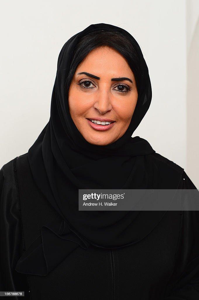 Jury Member Wedad Al Kawari poses for a portrait during the 2012 Doha Tribeca Film Festival at the AL Najada Hotel on November 20, 2012 in Doha, Qatar.