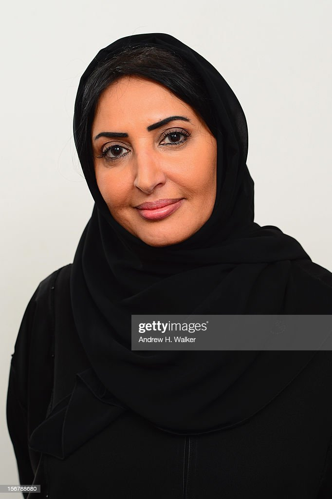 Jury Member Wedad Al Kawari poses for a portrait during the 2012 Doha Tribeca Film Festival at the AL Najada Hotel on November 20, 2012 in Doha, Qatar.