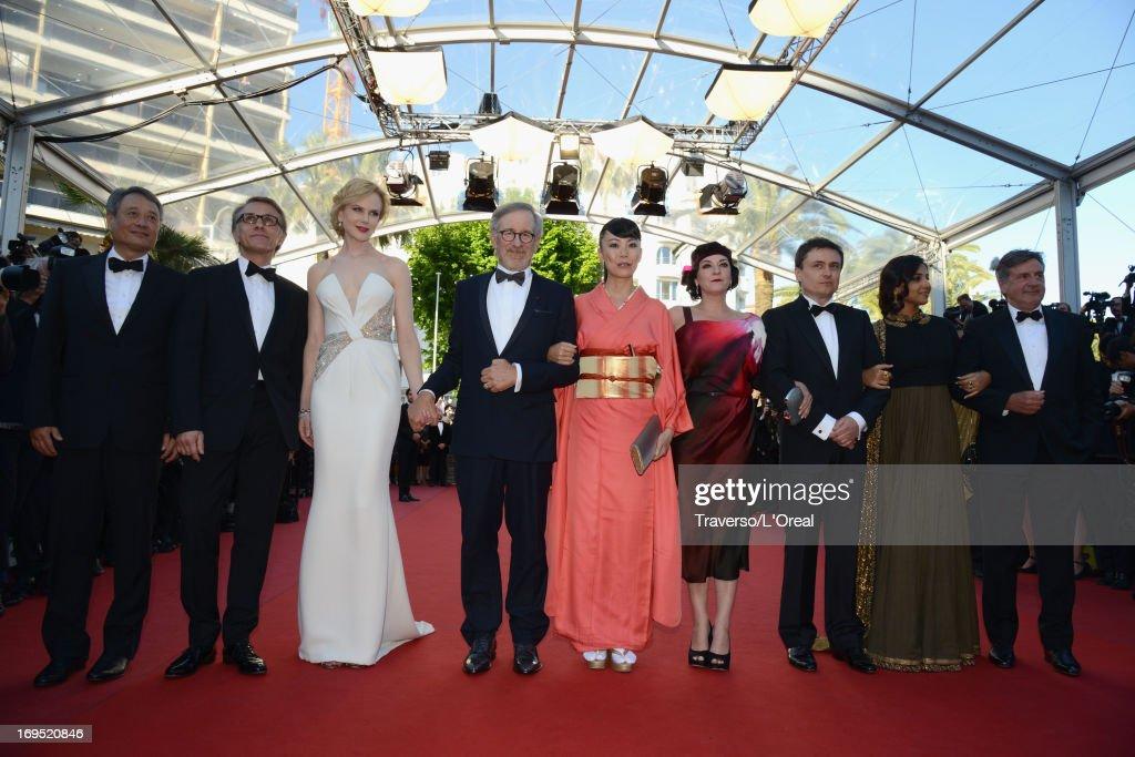 Jury members Ang Lee Christoph Waltz Nicole Kidman Jury President Steven Spielberg and jury members Naomi Kawase Lynne Ramsay Cristian Mungiu Vidya...