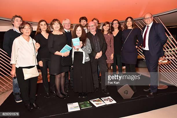 Jury members BMW marketing Director Pierre Jalady Philippe Carmouze Baptiste Liger Sophie Obadia Viktor Lazlo Georges Marc Habib Veronique Cardi...