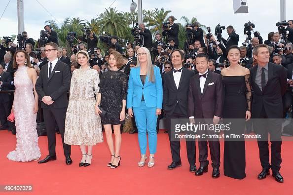 Jury members Carole Bouquet Nicolas Winding Refn Leila Hatami Sofia Coppola Jury President Jane Campion Jury members Gael Garcia Bernal Zhangke Jia...