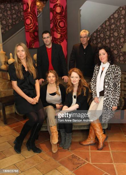 Jury members Collette Dinnigan Sophie Guillemin Miranda Otto Tina Arena Bernard Bories and Gerard Camy attend a photocall during the 12th...
