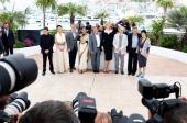 Jury members Cristian Mungiu Naomi Kawase Christoph Waltz Vidya Balan Daniel Auteuil Nicole Kidman jury president Steven Spielberg and jury members...