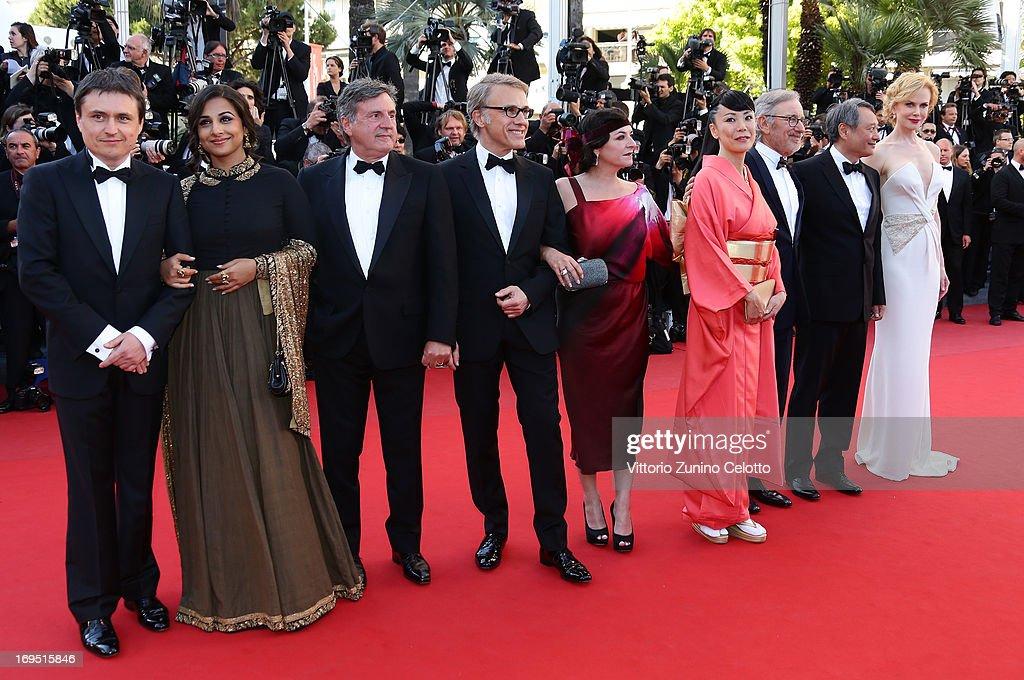 Jury members Cristian Mungiu Vidya Balan Daniel Auteuil Christoph Waltz Lynne Ramsay Naomi Kawase President of the Feature Film Jury Steven Spielberg...