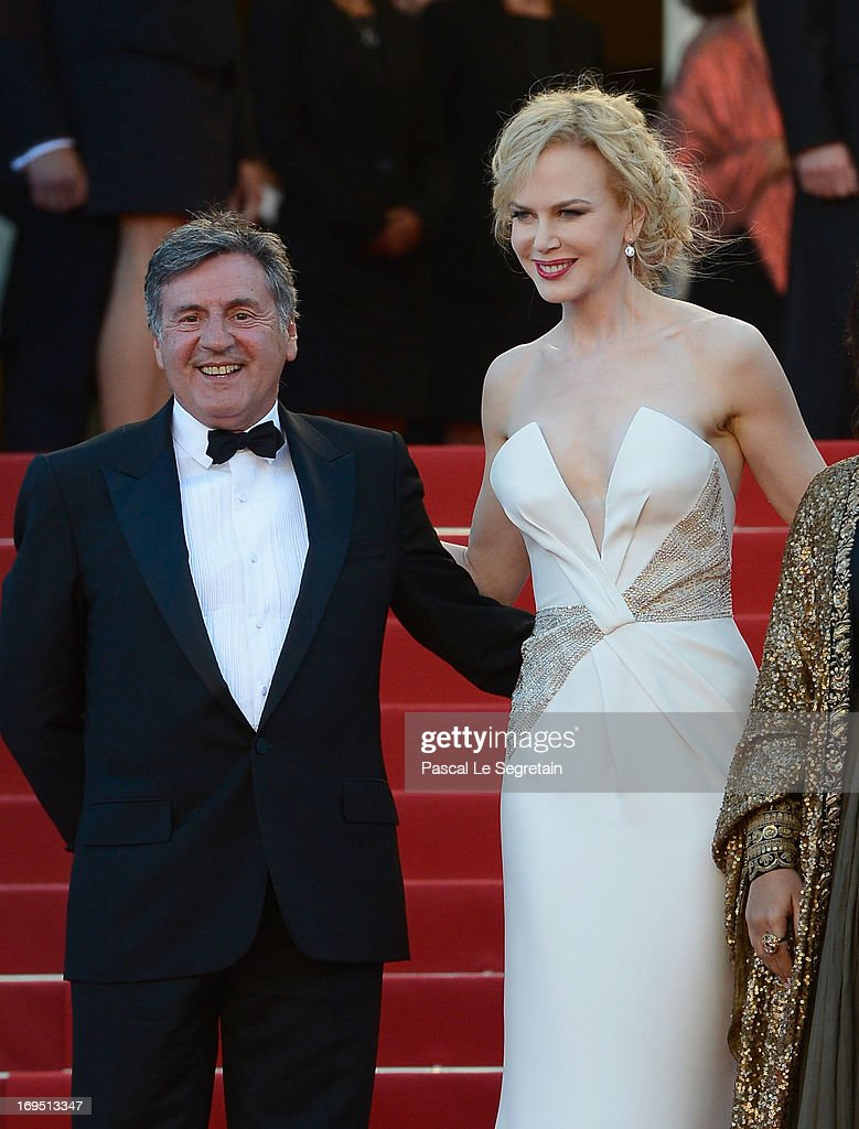 Jury members Daniel Auteuil and Nicole Kidman attend the 'Zulu' Premiere and Closing Ceremony during the 66th Annual Cannes Film Festival at the Palais des Festivals on May 26, 2013 in Cannes, France.