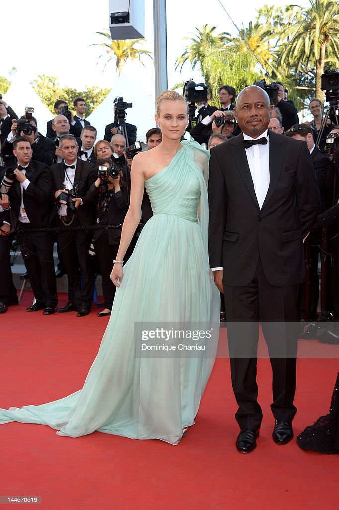 Jury members Diane Kruger and <a gi-track='captionPersonalityLinkClicked' href=/galleries/search?phrase=Raoul+Peck&family=editorial&specificpeople=243046 ng-click='$event.stopPropagation()'>Raoul Peck</a> attend the Opening Ceremony and 'Moonrise Kingdom' Premiere during the 65th Annual Cannes Film Festival at the Palais des Festivals on May 16, 2012 in Cannes, France.
