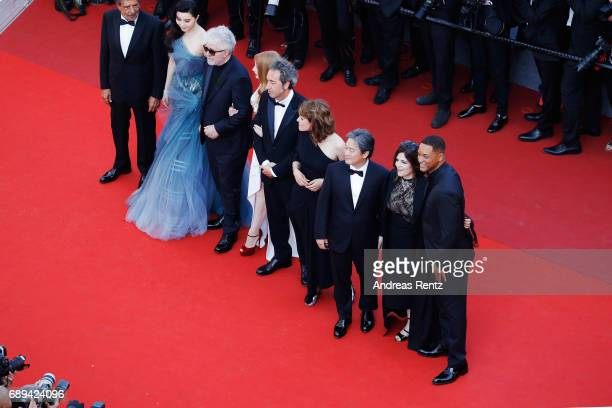 Jury members Gabriel Yared Fan Bingbing President of the jury Pedro Almodovar jury members Jessica Chastain Paolo Sorrentino Maren Ade Park Chanwook...