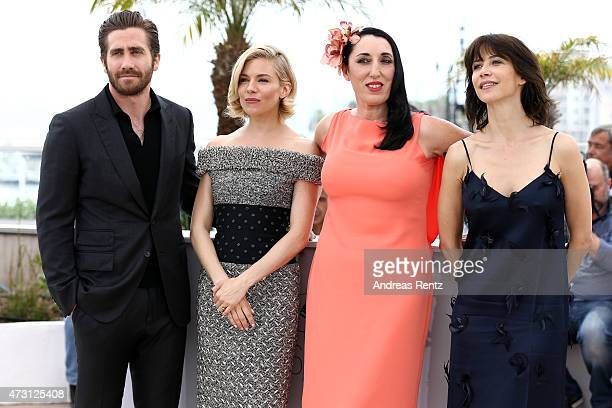 Jury members Jake Gyllenhaal Sienna Miller Rossy De Palma and Sophie Marceau attend the Jury photocall during the 68th annual Cannes Film Festival on...