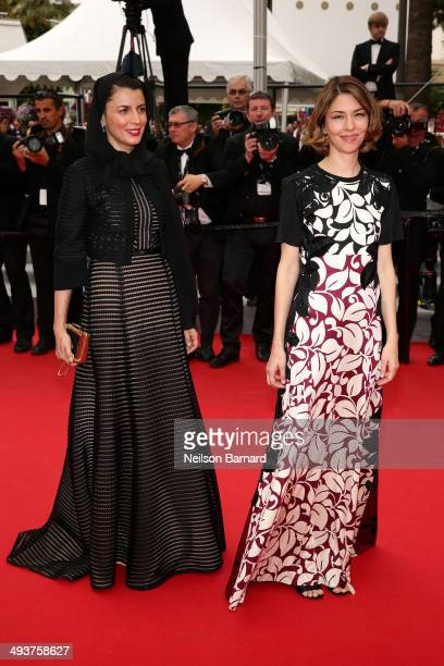 Jury members Leila Hatami and Sofia Coppola attend the red carpet for the Palme D'Or winners at the 67th Annual Cannes Film Festival on May 25 2014...