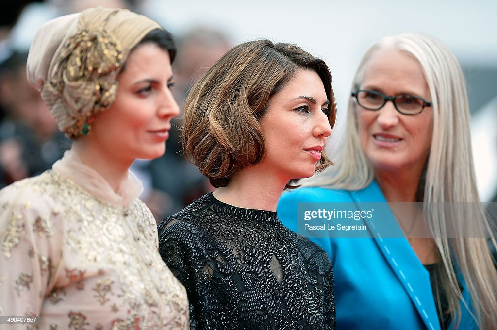 Jury members <a gi-track='captionPersonalityLinkClicked' href=/galleries/search?phrase=Leila+Hatami&family=editorial&specificpeople=7082232 ng-click='$event.stopPropagation()'>Leila Hatami</a>, <a gi-track='captionPersonalityLinkClicked' href=/galleries/search?phrase=Sofia+Coppola&family=editorial&specificpeople=202230 ng-click='$event.stopPropagation()'>Sofia Coppola</a> and Jury President <a gi-track='captionPersonalityLinkClicked' href=/galleries/search?phrase=Jane+Campion&family=editorial&specificpeople=616530 ng-click='$event.stopPropagation()'>Jane Campion</a> attend the Opening Ceremony and the 'Grace of Monaco' premiere during the 67th Annual Cannes Film Festival on May 14, 2014 in Cannes, France.