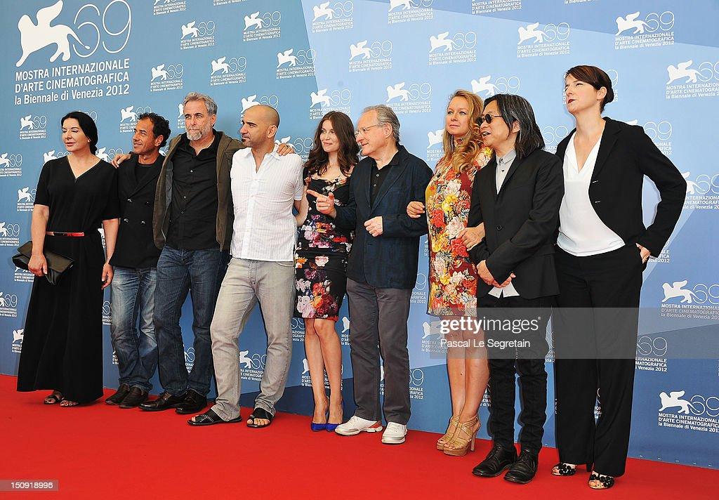 """Venezia 69"" Jury Photocall - The 69th Venice Film Festival"