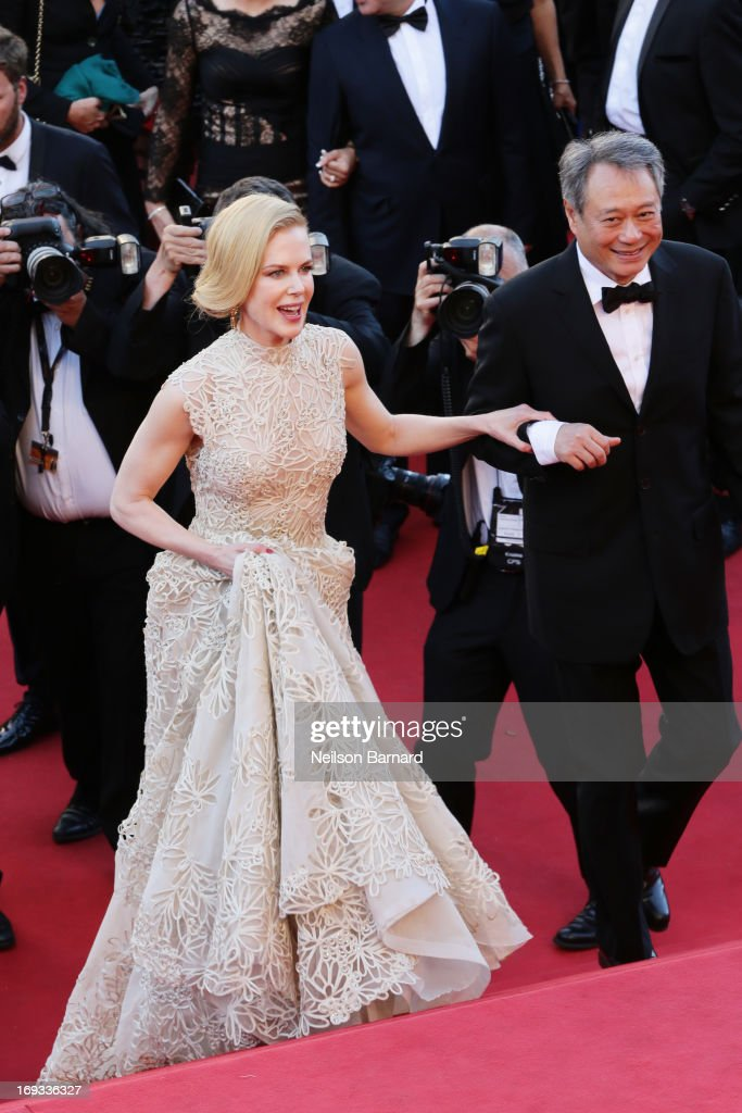 Jury members Nicole Kidman and Ang Lee attend the 'Nebraska' premiere during The 66th Annual Cannes Film Festival at the Palais des Festival on May 23, 2013 in Cannes, France.