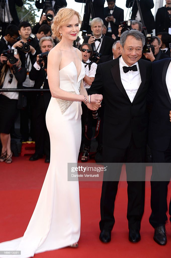 Jury members Nicole Kidman and Ang Lee attend the Premiere of 'Zulu' and the Closing Ceremony of The 66th Annual Cannes Film Festival at Palais des Festivals on May 26, 2013 in Cannes, France.