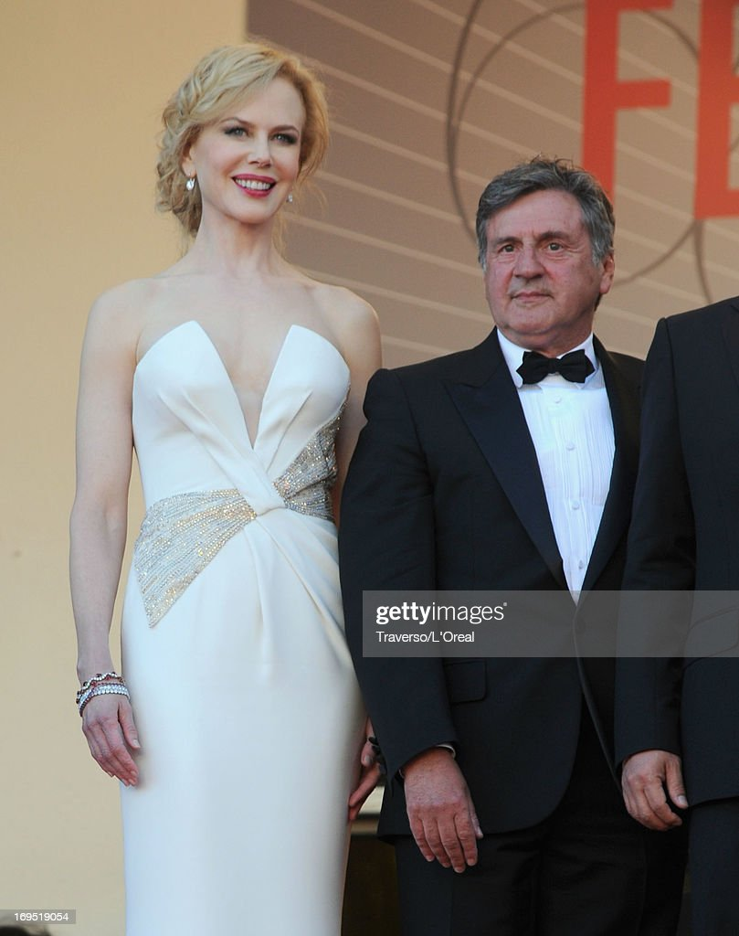 Jury members Nicole Kidman and Daniel Auteuil attend the 'Zulu' Premiere and Closing Ceremony during the 66th Annual Cannes Film Festival at the Palais des Festivals on May 26, 2013 in Cannes, France.