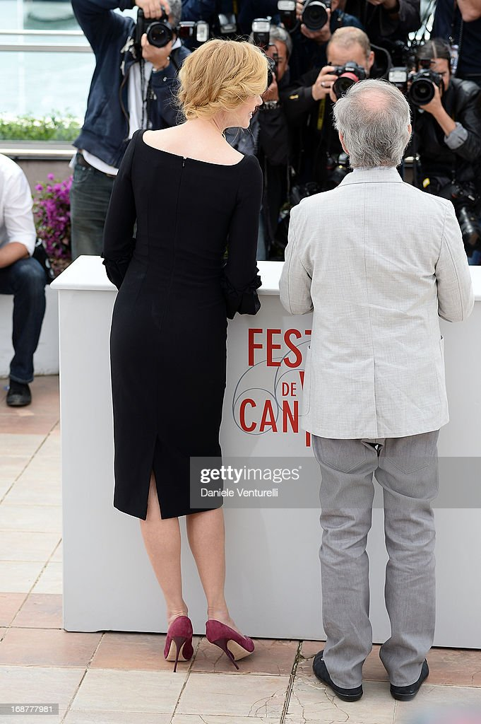 Jury members Nicole Kidman and jury president Steven Spielberg attend the Jury Photocall at The 66th Annual Cannes Film Festival on May 15, 2013 in Cannes, France.