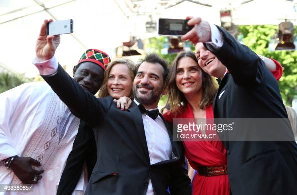Jury members of 'Un Certain Regard' Senegalese director Moussa Toure Norwegian actress Maria Bonnevie Argentine director Pablo Trapero French actress...