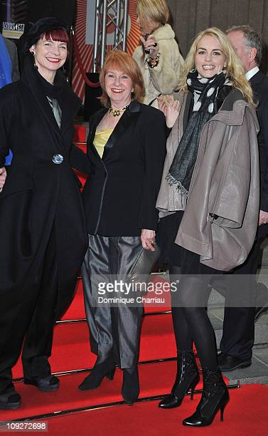 Jury members Sandy Powell Jan Chapman and Nina Hoss attend the 'Late Bloomers' Premiere during day nine of the 61st Berlin International Film...
