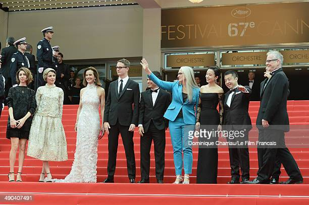 Jury members Sofia Coppola Leila Hatami Carole Bouquet Nicolas Winding Refn Gael Garcia Bernal Jury President Jane Campion Jury members Doyeon Jeon...