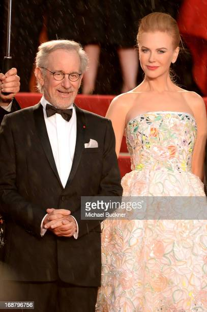 Jury members Steven Spielberg and Nicole Kidman attend the Opening Ceremony and premiere of 'The Great Gatsby' during the 66th Annual Cannes Film...