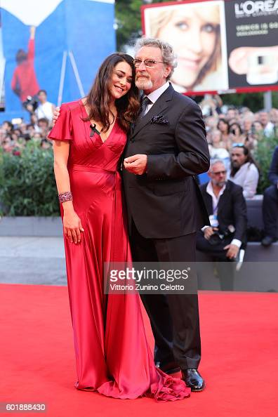 Jury members Valentina Lodovini and Robert Guediguian attend the closing ceremony of the 73rd Venice Film Festival at Sala Grande on September 10...