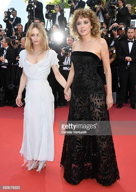 Jury members Vanessa Paradis and Valeria Golino attend 'The Last Face' Premiere during the 69th annual Cannes Film Festival at the Palais des...
