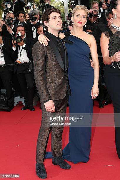 Jury members Xavier Dolan and Sienna Miller attend the opening ceremony and premiere of 'La Tete Haute' during the 68th annual Cannes Film Festival...