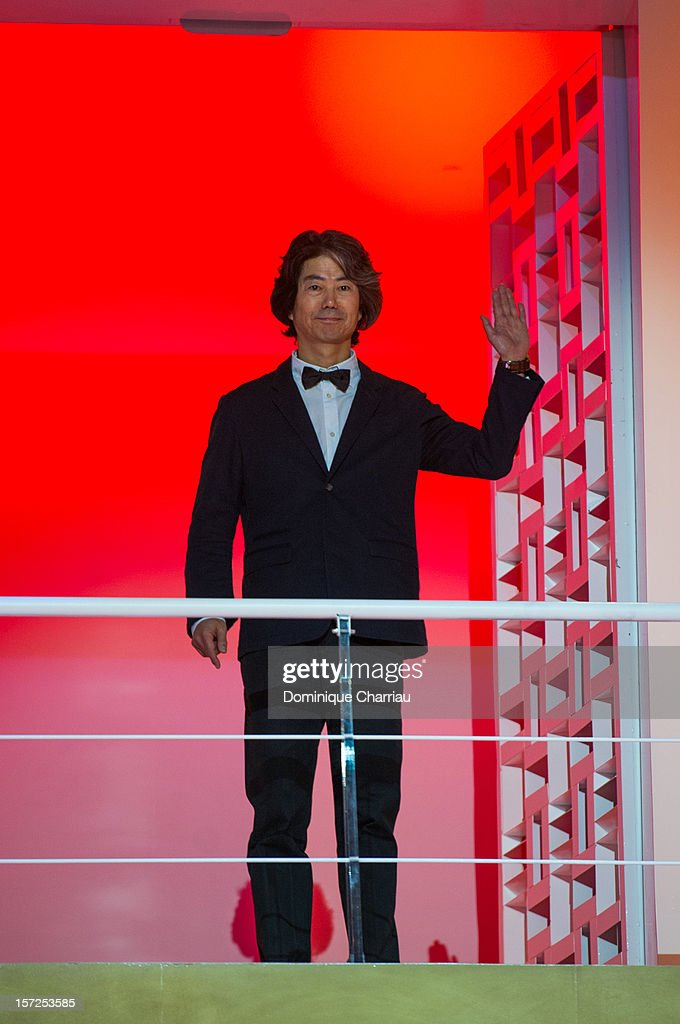 Jury menbers of the 12th Marrakech International Film Festival Jeon Soo-Il arrives for the opening ceremony of the 12th Marrakesh International Film Festival on November 30, 2012 in Marrakech, Morocco.