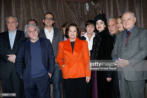 Jury of the Prize Dominique Noguez Arnaud Viviant President of Jury Charles Dantzig winner of the Prize Elisabeth Roudinesco for her book 'Sigmund...