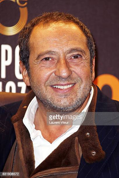 Jury Patrick Timsit attends the 20th L'Alpe D'Huez International Comedy Film Festival Opening Ceremony on January 17 2017 in Alpe d'Huez France