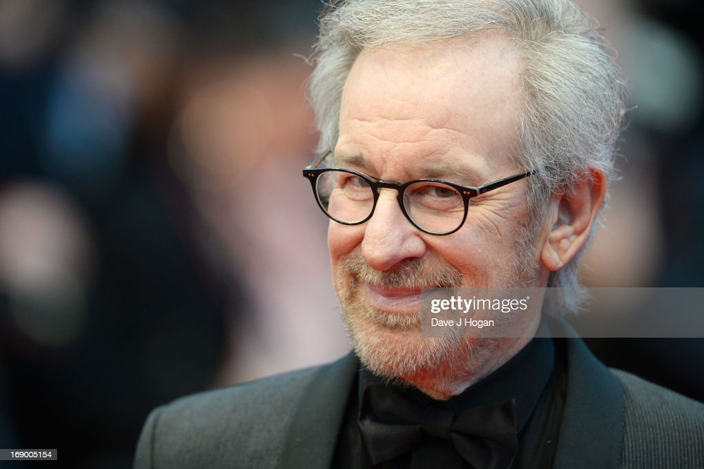 Jury President and Director <a gi-track='captionPersonalityLinkClicked' href=/galleries/search?phrase=Steven+Spielberg&family=editorial&specificpeople=202022 ng-click='$event.stopPropagation()'>Steven Spielberg</a> attends 'Jimmy P. (Psychotherapy Of A Plains Indian)' Premiere during the 66th Annual Cannes Film Festival at Grand Theatre Lumiere on May 18, 2013 in Cannes, France.